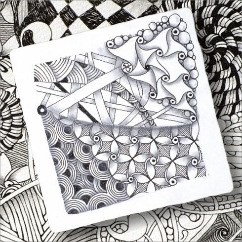 diferencias entre zentangle y doodle