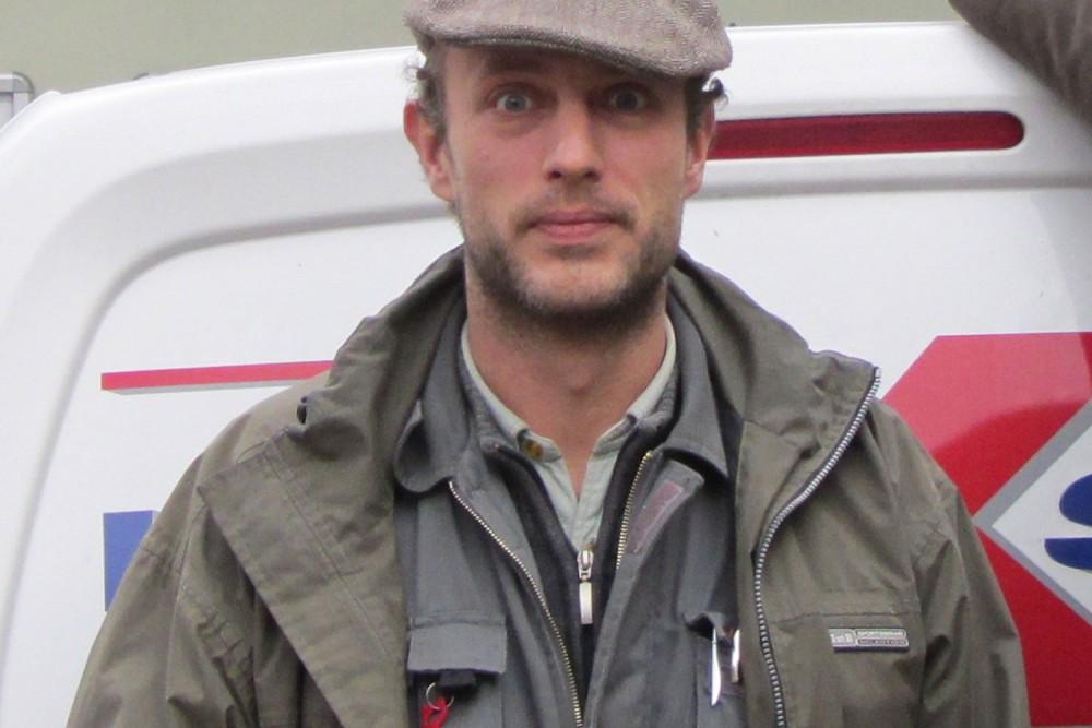Andreas Fischer belegte beim boesner art award 2014 den zweiten Platz