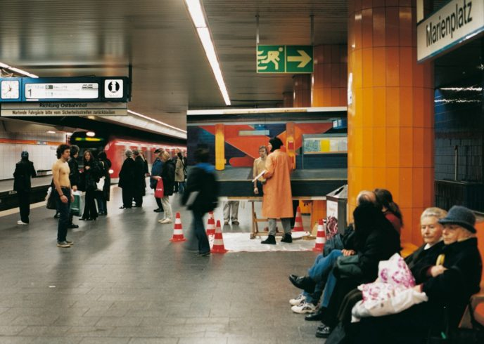 Ecce Homo, Marienplatz, Munich (2001)