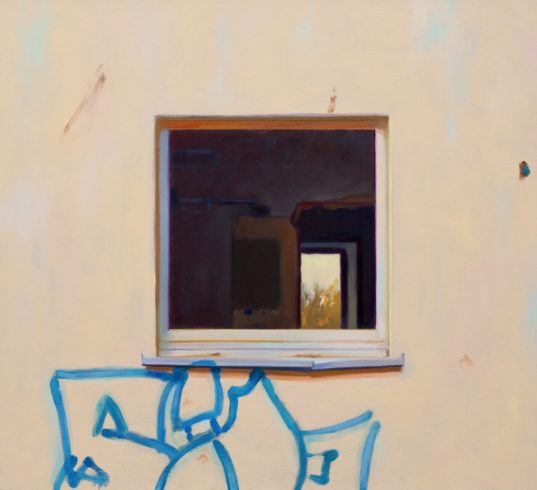 HLF 5 Fensterlos Graffiti
