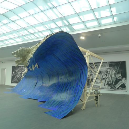 Rinus Van de Velde, Donogoo Tonka, Blick in die Ausstellung, Foto: Heiko Klaas