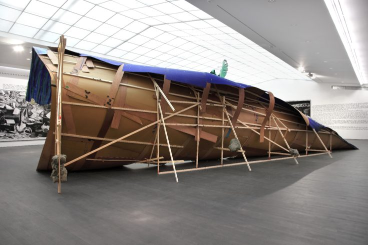 Rinus Van de Velde, Installation view, S.M.A.K., Ghent, Donogoo Tonka, 2015, Courtesy Tim Van Laere Gallery, Antwerp