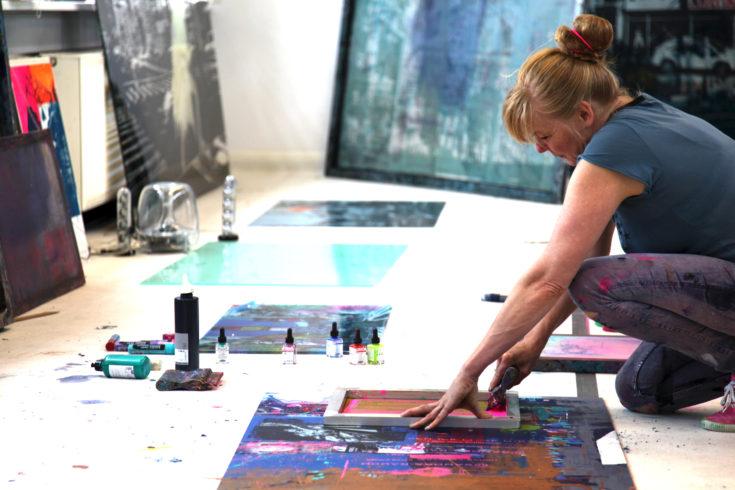 Sandra Rauch bei der Arbeit 9_Jens Becker