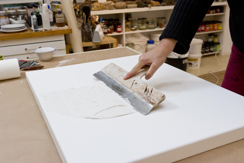 spachtelmassen selbst herstellen - boesnerkunstportal