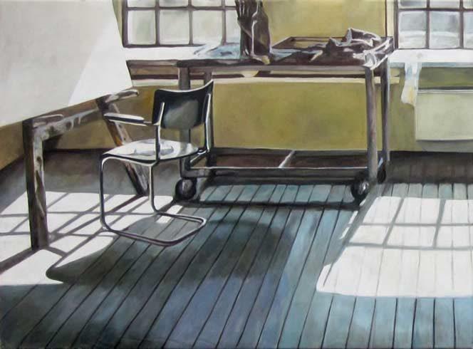 Bild 1 »Atelier III«, Öl auf Leinwand, 120 x 170 cm