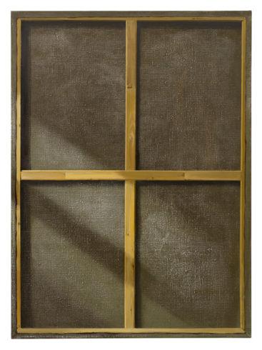 Fenster, 2010, Öl auf Leinwand, 150 x 110 cm