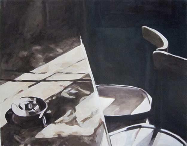 Bild 11 »Mutter Schulte Tisch«, Öl auf Leinwand, 54 x 70 cm