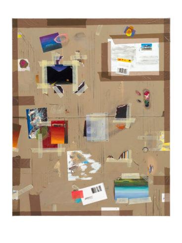 IKE by air, 2012, Öl auf Leinwand, 100 x 80 cm