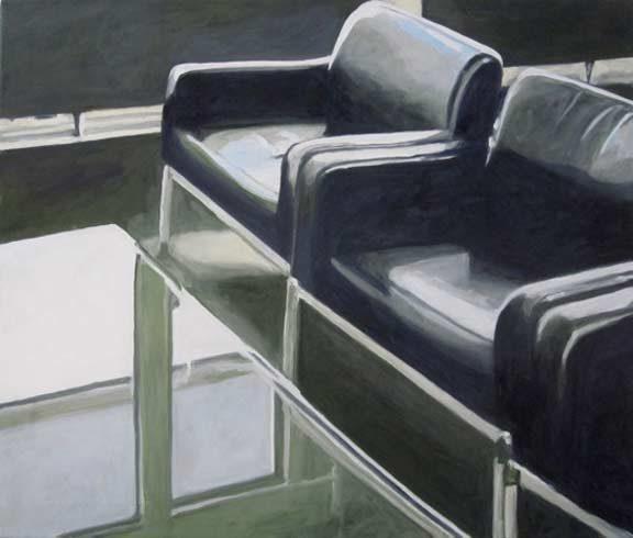 Bild 15 »Kreishaus«, Öl auf Leinwand, 60 x 70 cm