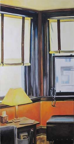 Bild 16 »Erker N•Y•C•«, Öl auf Leinwand, 150 x 120 cm