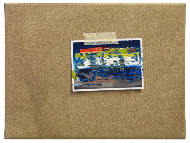 O.T. (Tanke), 2013, Ölfarbe auf Leinwand, 30 40 cm Foto: Ivo Faber