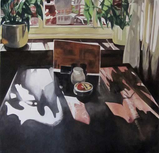 Bild 2 »De Klok«, Öl auf Leinwand, 100 x 100 cm