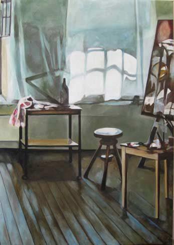Bild 24 »Atelier II«, Öl auf Leinwand, 170 x 120 cm