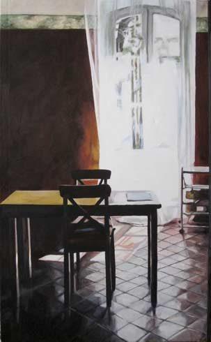 Bild 5 »Maleragues II«, Öl auf Leinwand, 130 x 80 cm