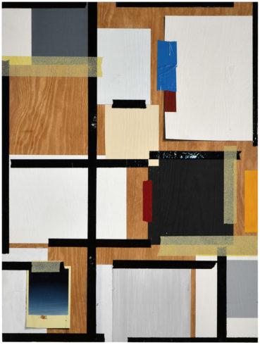 Fake, 80 x 60 cm, Öl auf Holz, 2016