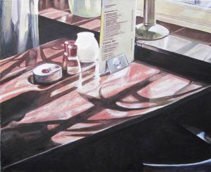 Klok II, Öl auf Leinwand, 100 x 120 cm