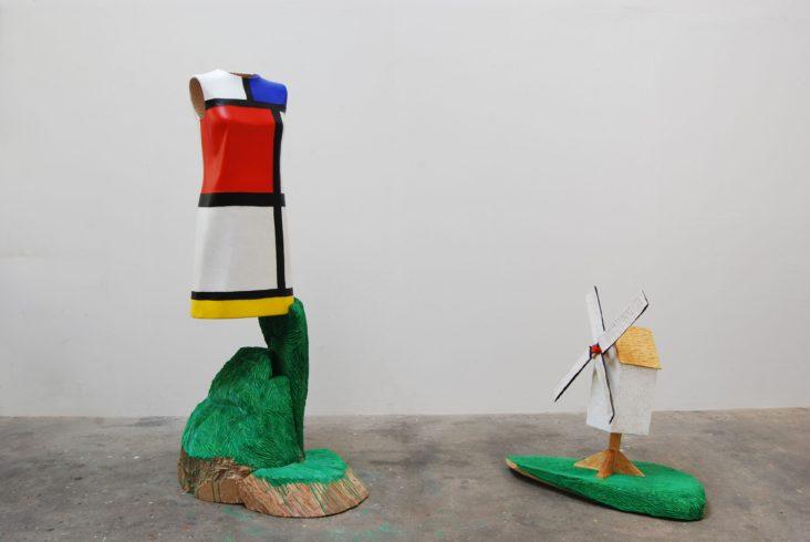 Yves & Piet, Nature morte, 2002/13, Linde, verschiedene Hölzer