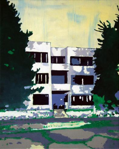 Embassy, Öl auf Leinwand, 50 x 40 cm, 2016