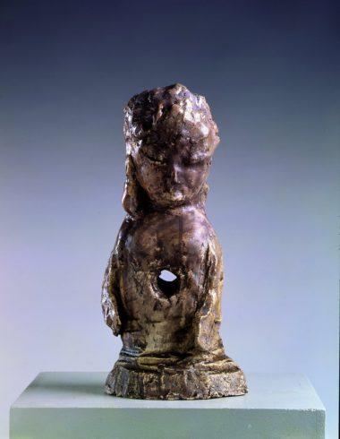 Vogelbuddha, 2006, Terrakotta, 36 x 17 x 14 cm, Foto: Lothar Schnepf