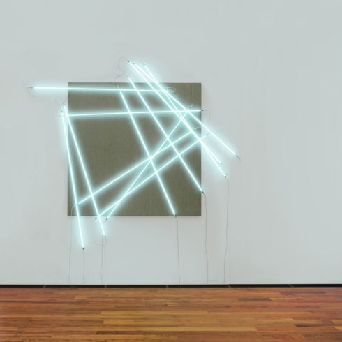 François Morellet, Les 12 côtés du carré, 2001 © VG Bild-Kunst, Bonn 2017
