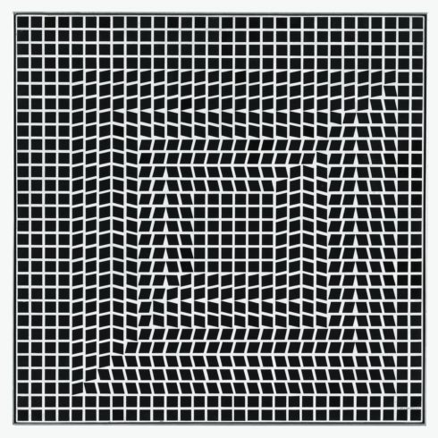 Victor Vasarely, TLINKO-K, 1956/63 © VG Bild-Kunst, Bonn 2017/ Victor Vasarely