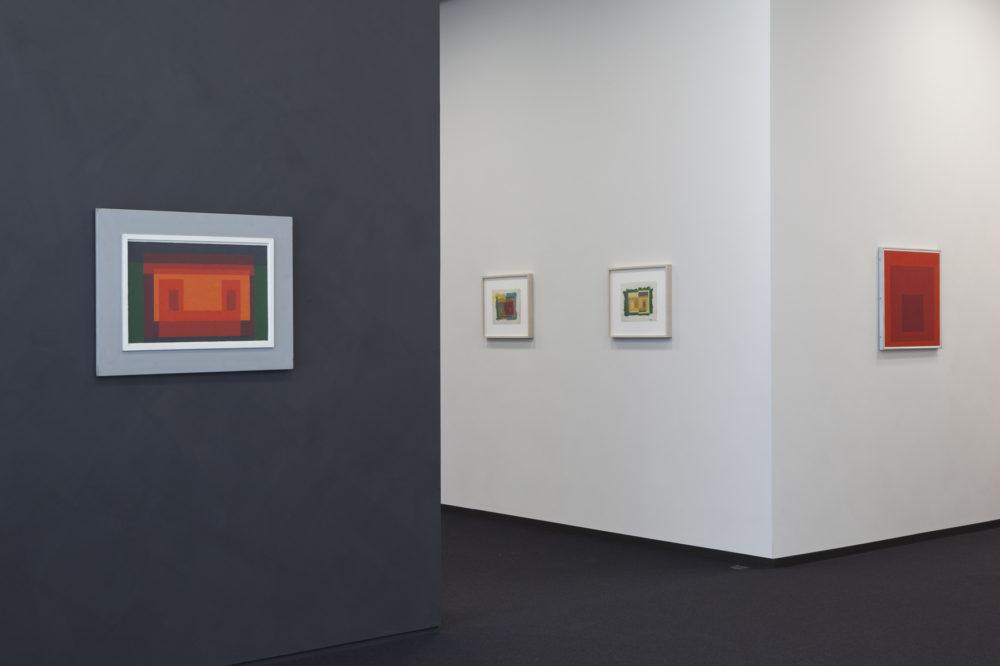 Josef Albers Museum Quadrat Bottrop, Innenansicht, © Josef Albers Museum Quadrat Bottrop, Foto: VG Bild-Kunst, Bonn 2017 / Werner J. Hannappel