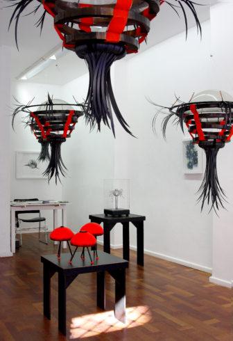 Module der Serie IX, 2012, Objekte und Arbeiten auf Papier, 2011-2013, Einzelausstellung