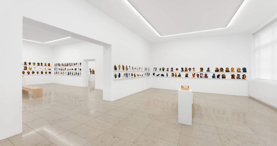 Raumaufnahmen der Ausstellung