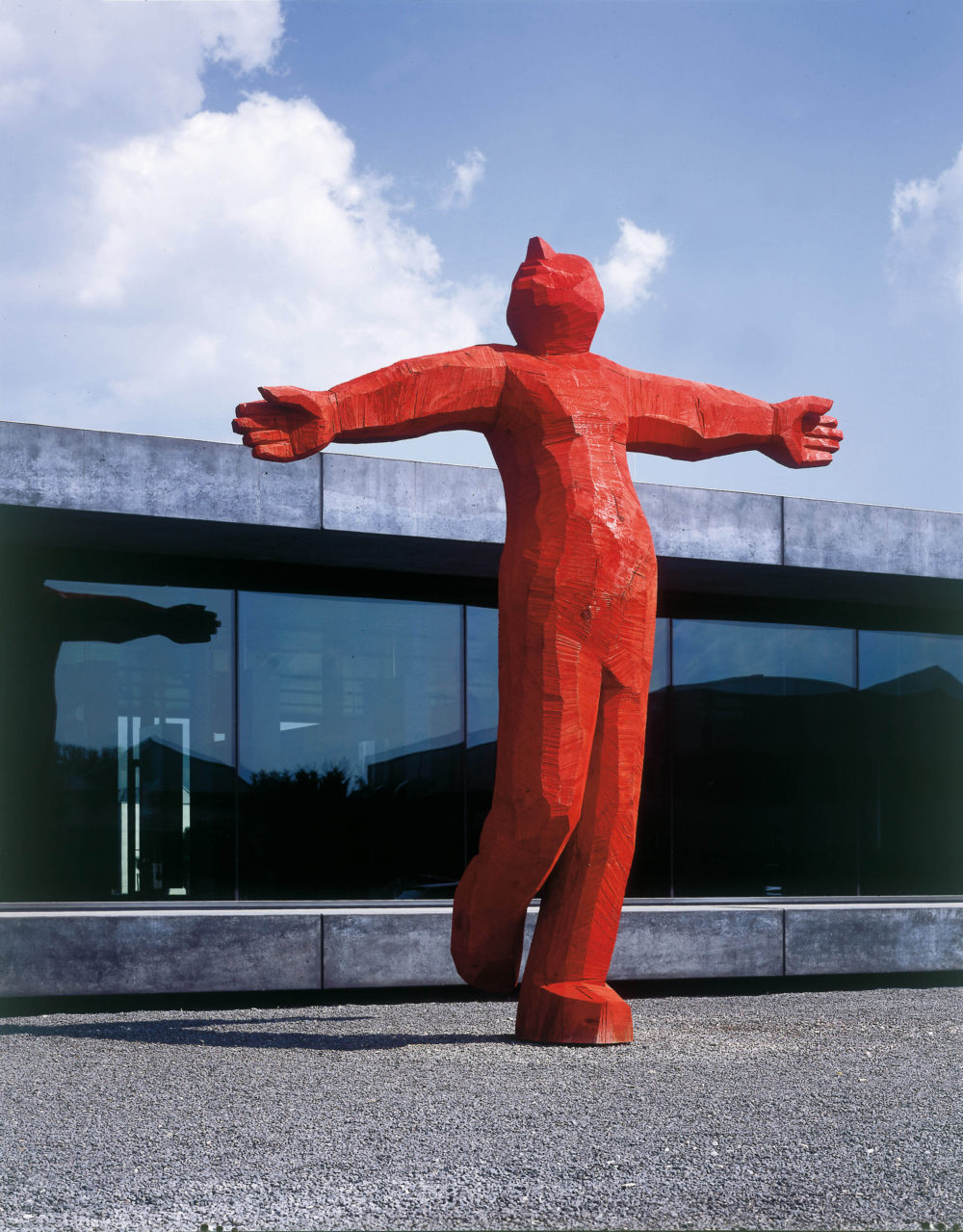Josef Lang, Louis, Eiche, rot lasiert, Foto: Siegfried Wameser