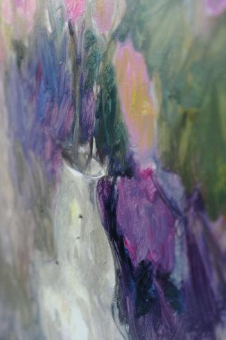 Ölfarben auf Gesso-Malplatte