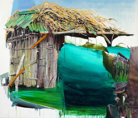 Meghay 2016 Öl auf Leinwand 150 x 175 cm