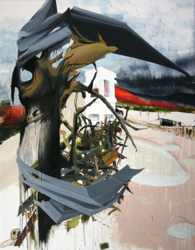 Schrott 2012 Öl auf Leinwand 180 x 140 cm