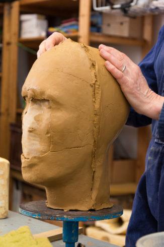 Ateliershooting Atelier fuer Plastische Kunst Dr.Babette Martini