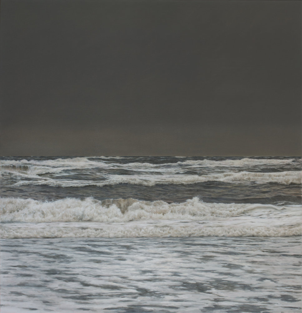 It is Windy, 2018, Öl auf Leinwand, 155 x 150 cm Foto: Bart Koning