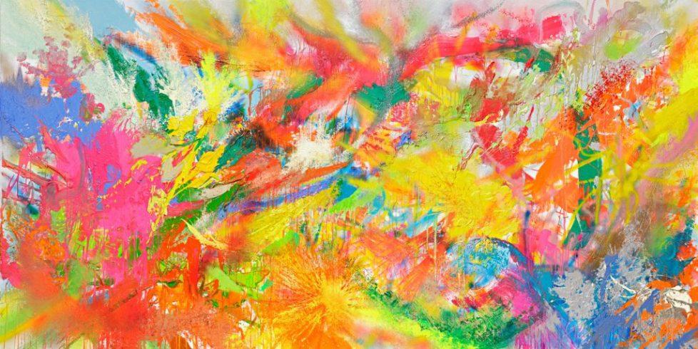 Tremendous Dream, 2019, Oil/Canvas, 2019, 200 x 400 cm, Courtesy of the Artist, Foto: Hans-Georg Gaul