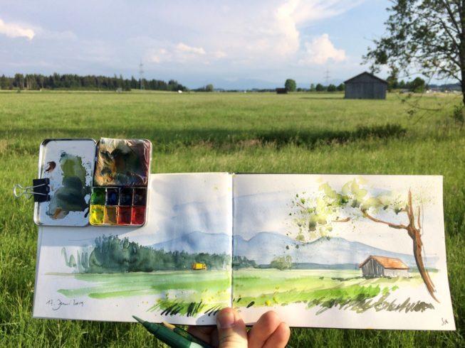 Abb. 4 - Landschaft