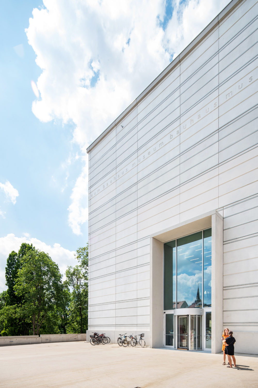 Bauhaus-Museum Weimar, Außenansicht Foto: Thomas Müller, Klassik Stiftung Weimar