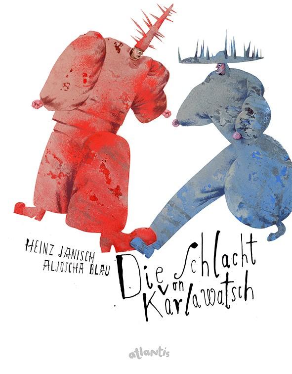 Aljoscha Blau - Buchcover - Die Schlacht von Karlawatsch