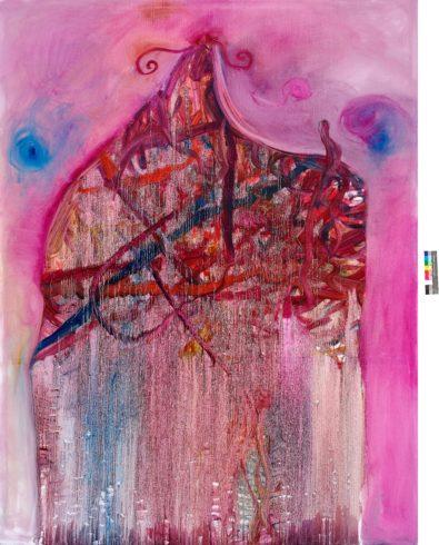 House of Jazz 5, 2018, Öl auf Leinwand, 250 x 200 cm, © Yury Kharchenko, Foto: Roland Baege