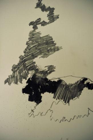 Bleistift Landschaftszeichnungen Ina Riepe 04