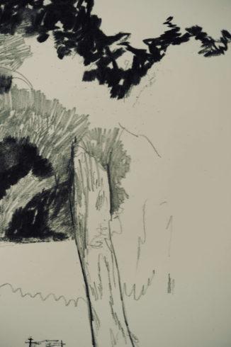 Bleistift Landschaftszeichnungen Ina Riepe 06