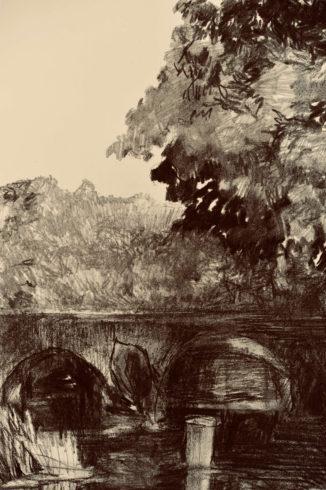 Bleistift Landschaftszeichnungen Ina Riepe 09