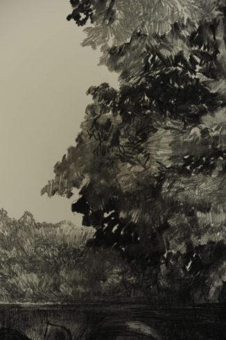 Bleistift Landschaftszeichnungen Ina Riepe 10