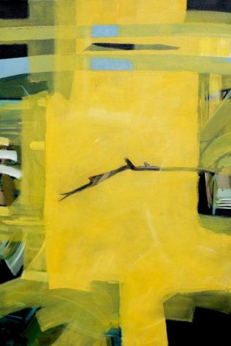 Eklipse, 2019, Öl auf Leinwand, 150 x 100 VG Bild-Kunst, Bonn 2020/ Christine Westenberger, Foto: Christine Westenberger