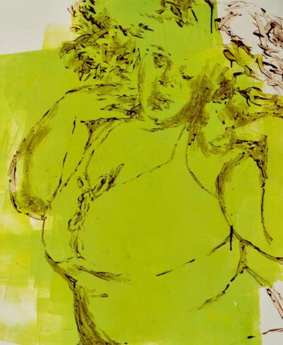 Ina Riepe - Acryl - Golden 02