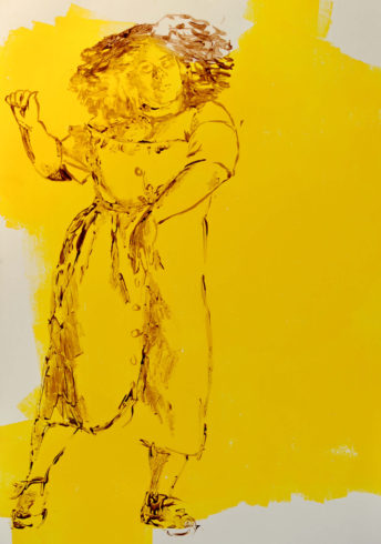Ina Riepe - Acryl - Golden 04