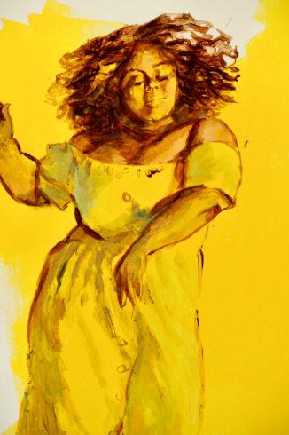Ina Riepe - Acryl - Golden 05