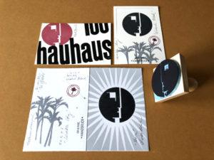 Stempel Karten Bauhaus