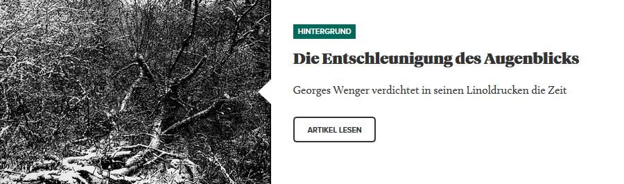 Hintergrund - Georges Wenger