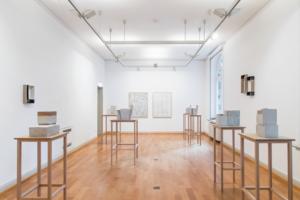Installationsansicht, Kunstmuseum Ahlen, 2017, Foto © Christian Schlüter